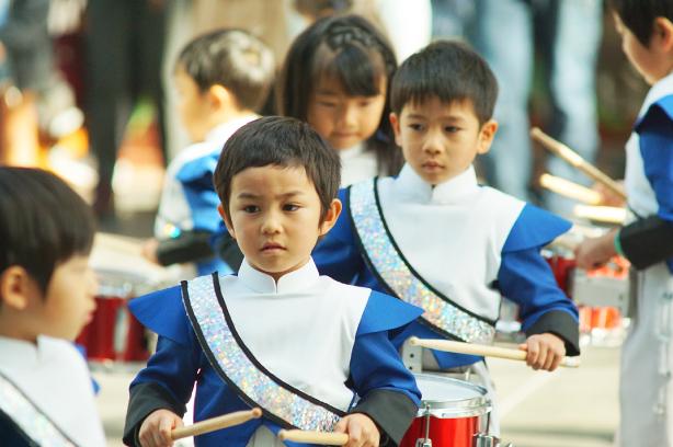 正課マーチング指導・音楽総合指導2